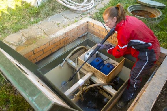 Station de relevage eaux usées